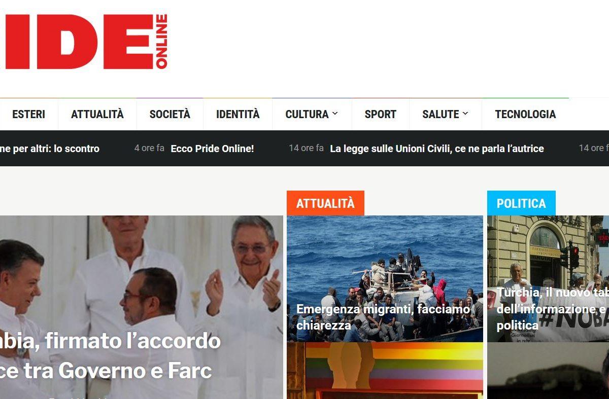 #NOBAVAGLIO/ BENVENUTO A PRIDE ONLINE