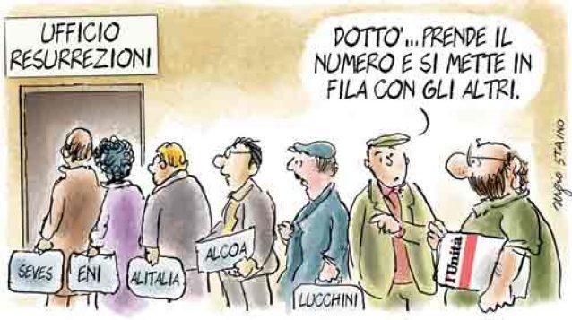 #NOBAVAGLIO/ Una buona notizia: alla direzione de l'Unita il tandem Staino-Romano
