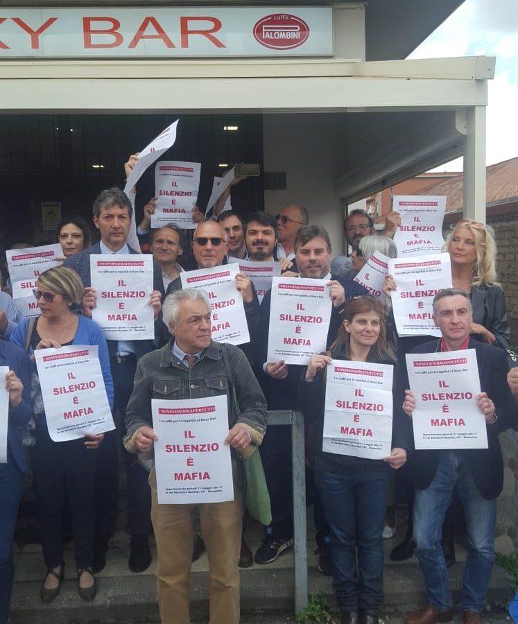 #NOBAVAGLIO/ Romanina, dibattiti, film e volontariato nella villa confiscata