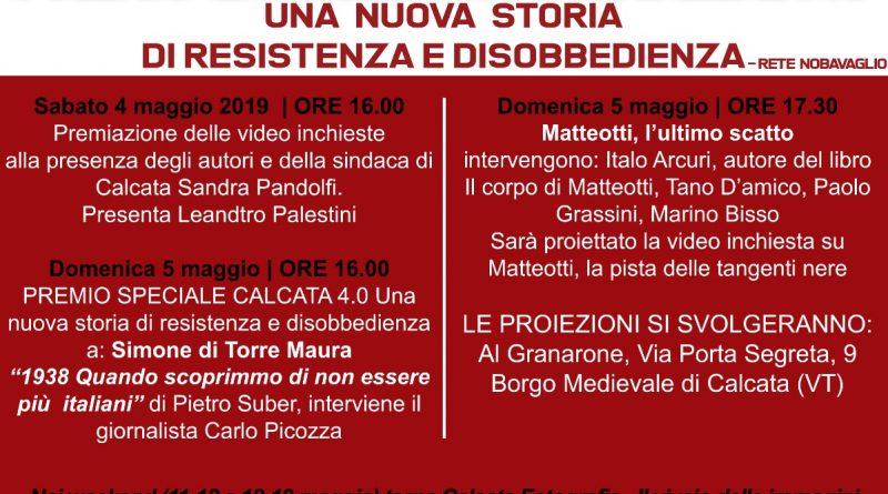 CALCATA 4.0 – Una nuova storia di resistenza e disobbedienza