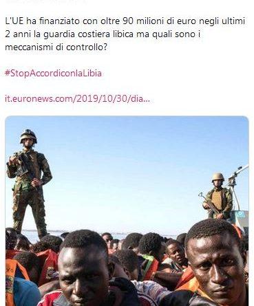 """Caritas Ambrosiana: """"Diamo milioni di euro alla guardia costiera libica. Ma chi la monitora?"""""""