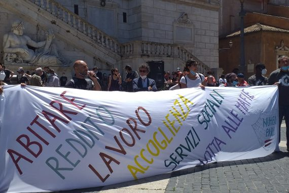 """In Campidoglio la voce dei movimenti: """"Diritti e democrazia in comune"""""""